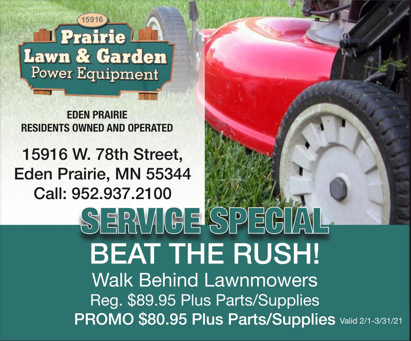 Prairie Lawn and Garden