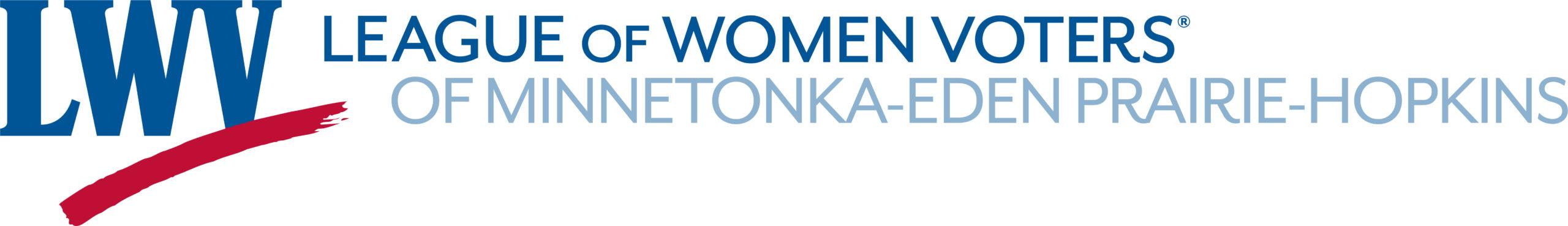 League of Women Voters of Minnetonka - Eden Prairie - Hopkins